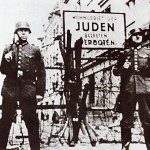 Residence For Jews Entrance Forbidden a Ghetto Sign