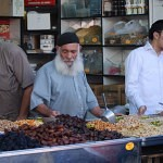 Selling nuts at the Shuk_fin