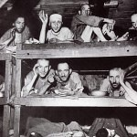 BuchenwaldSurvivorsEatInBunks