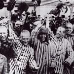 DachauSurvivorsGreetLiberatingAmericans