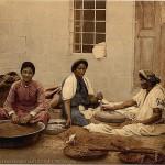 Peasants-grinding-corn-at-Jerusalem_-Holy-Land