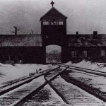 TrainTracksLeadingToAuschwitzConcentrationCamp