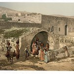 The-virgin__s-fountain_-Nazareth_-Holy-Land_-_i.e.-Israel_