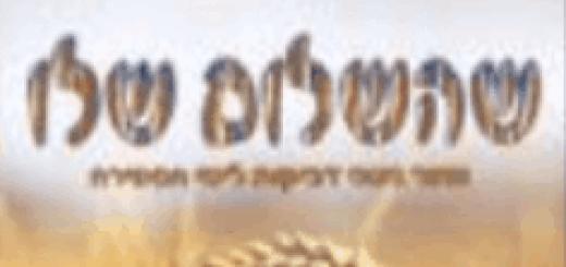 Yosef Moshe Kahana - SheHashalom Shelo