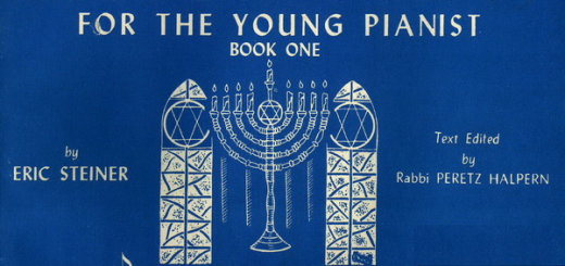 Hebrew songs for the young pianist 1