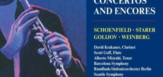 Klezmer Concertos and Encores (Starer, Schoenfield, Weinberg, Golijov, Krakauer) (2003)