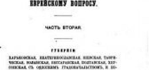 Труды губернских комиссий по еврейскому вопросу (в 2-х частях) (1894)