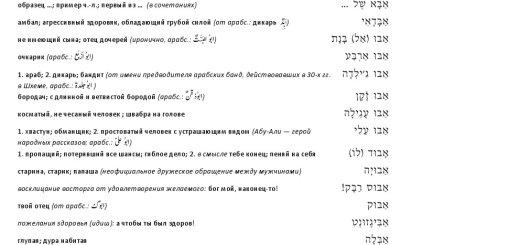 4-ая страница словаря
