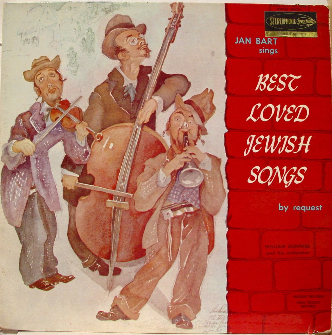 Jan Bart - Best Loved Jewish Songs (1960)