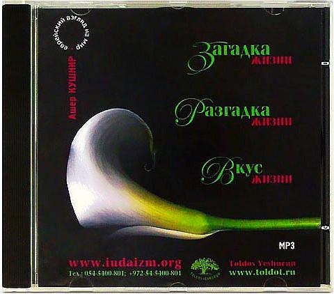 Рав Ашер Кушнир - Смысл жизни (2007) (аудио)