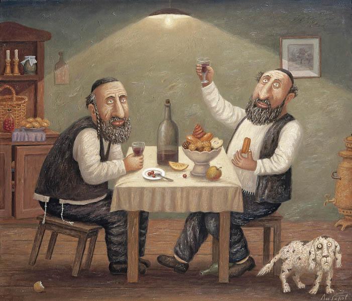 Лучшие еврейские анекдоты. Из еврейской жизни. Часть 1