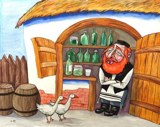 Еврейские сказки. Шейд и виноторговец