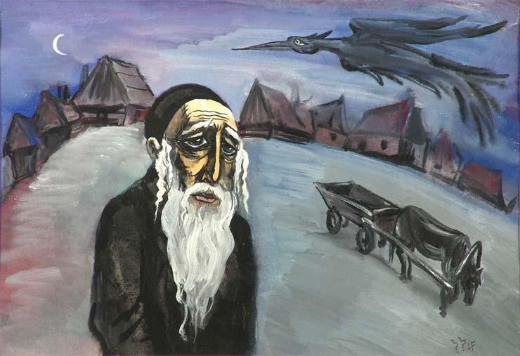 Народная еврейская сказка о бедняке и нечистой силе