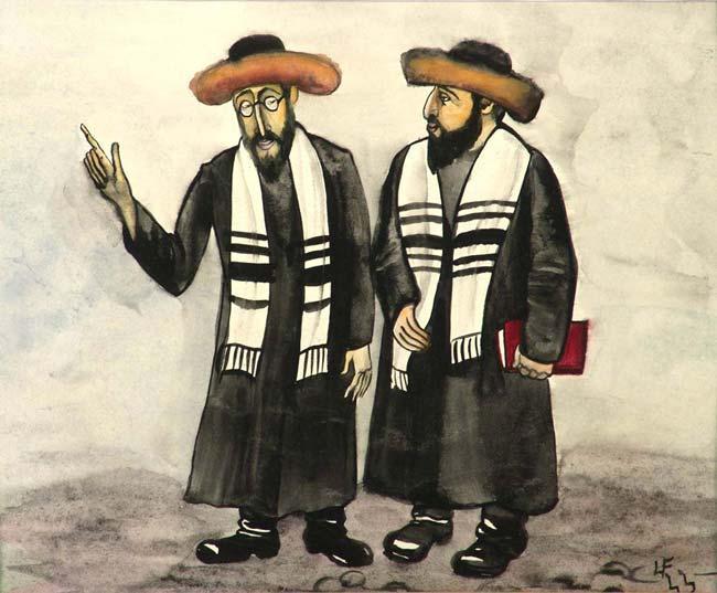 Сказка о двух евреях-братьях: бедняке и богаче