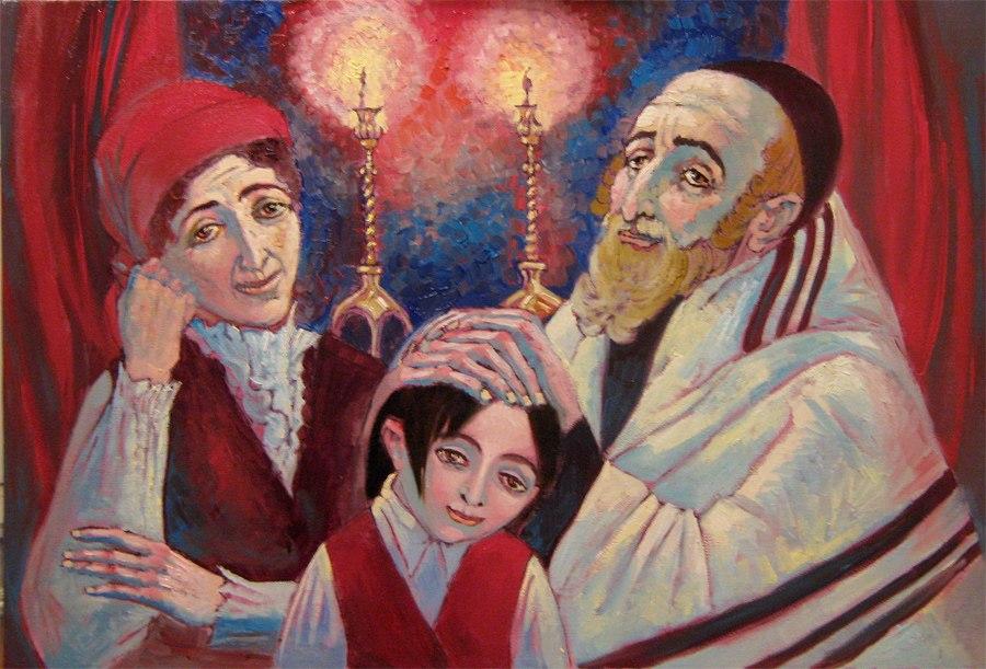 Еврейская сказка о раввине, раввинше, их сыне и волшебнике Клойстере