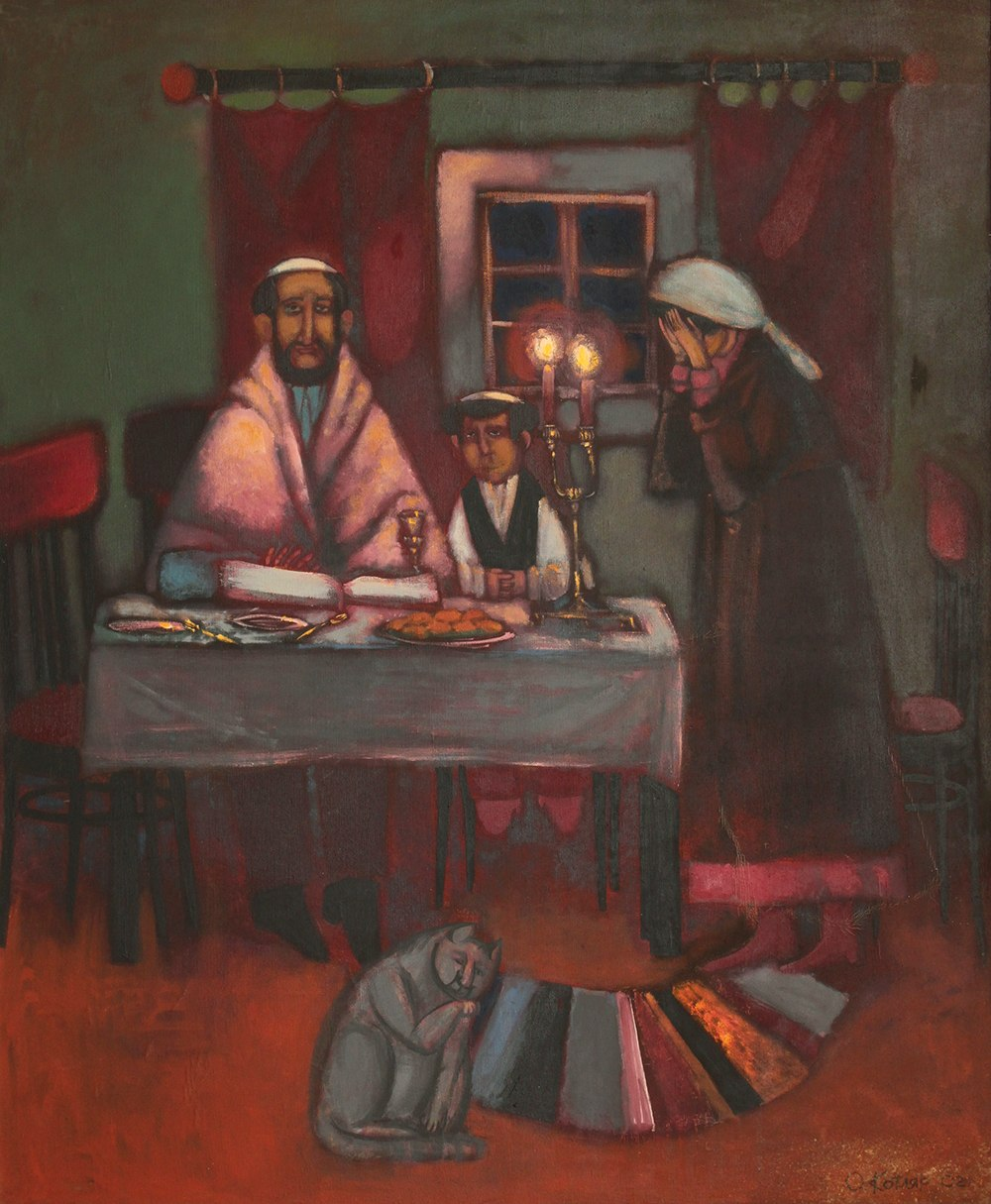 Народные еврейские сказки. Единственный сын