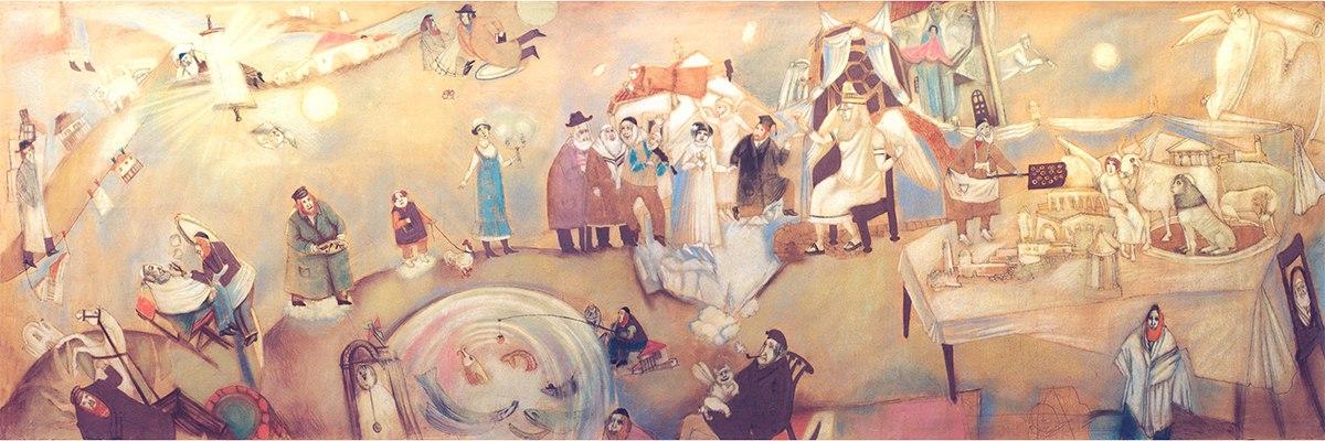 kotlyar img50 Еврейское местечко на картинах художницы Елены Серединой (Котляр)