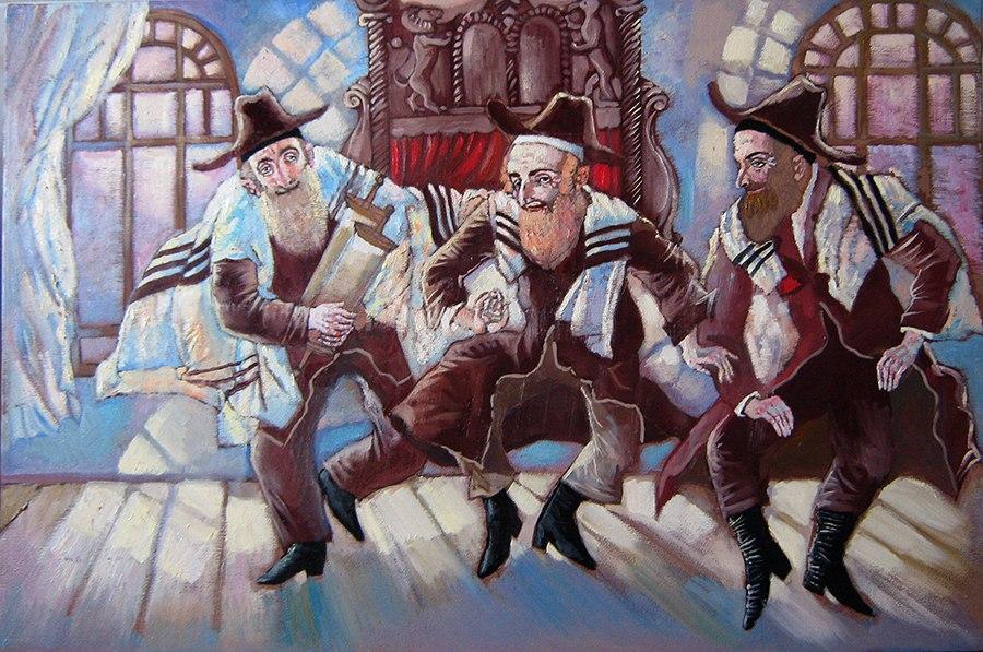 Еврейское местечко на картинах художницы Елены Серединой (Котляр)