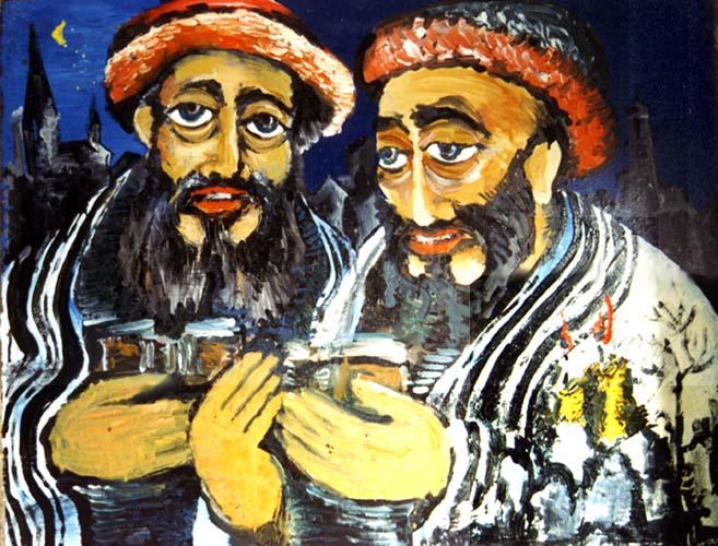 Еврейская сказка о двух братьях - Рувене и Шимоне