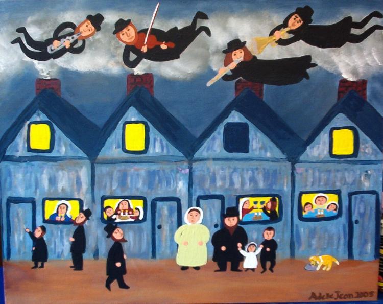 """""""Детские"""" еврейские рисунки Adelle Jean"""