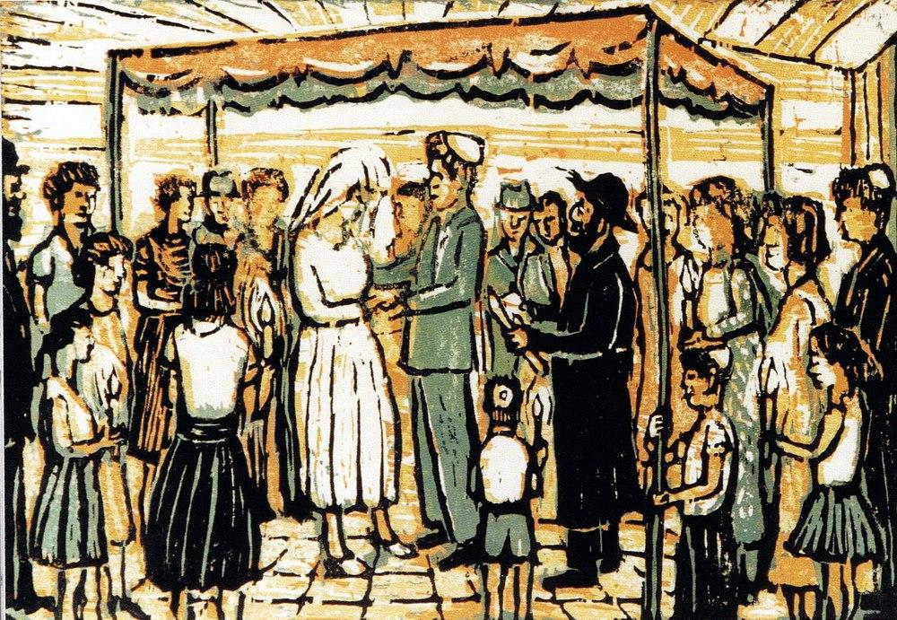 50 картин еврейской свадьбы