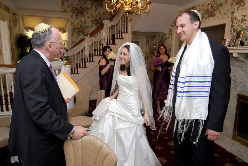 Еврейская свадьба (фотография 8)