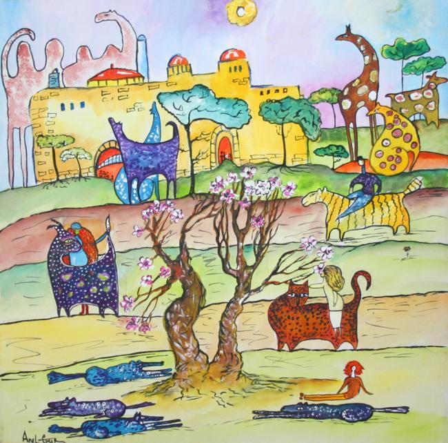 Еврейские сказки-небылицы для детей