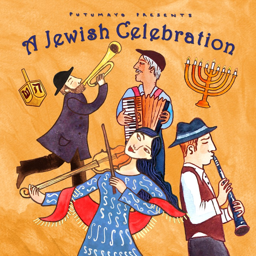 VA - Putumayo Presents A Jewish Celebration (2013)