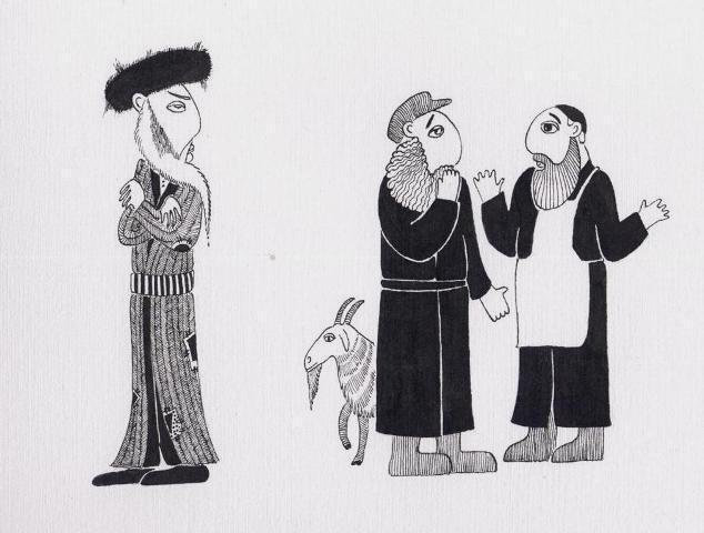 Рассказы про евреев бедняков и богачей