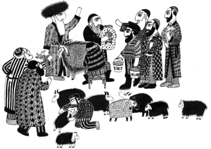Еврейские сказки о простаках