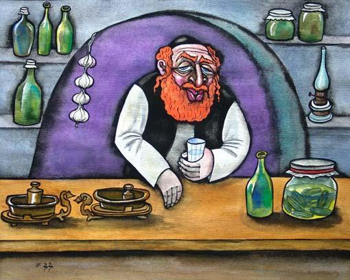 Про еврейских купцов и лавочников
