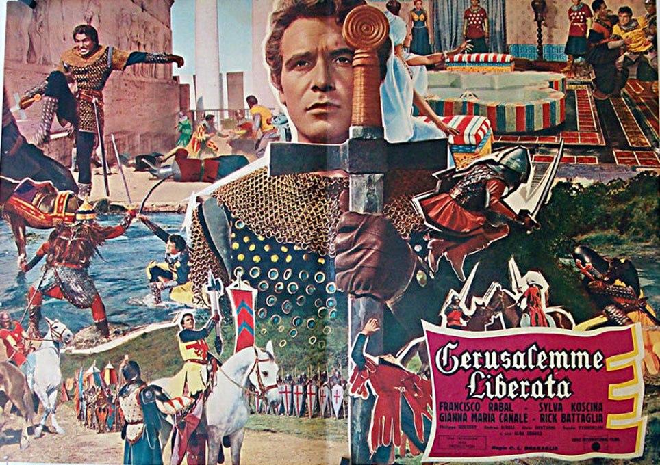 Битва за Иерусалим / La Gerusalemme liberata (1958)