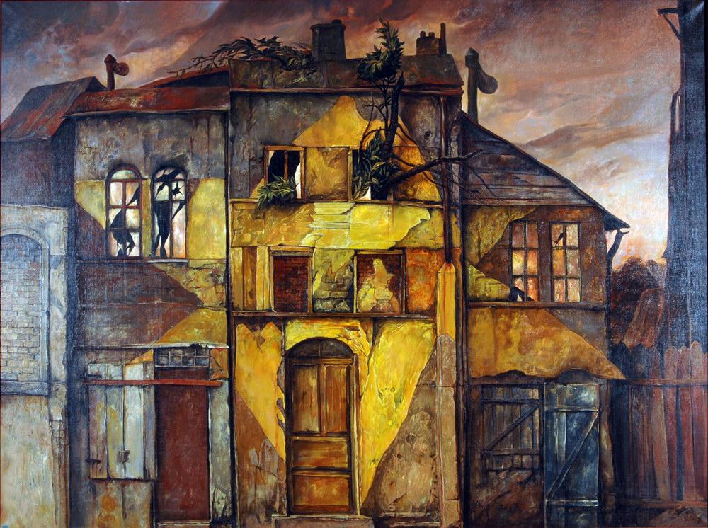 Холокост в еврейских картинах Самуила Бака (Samuel Bak)