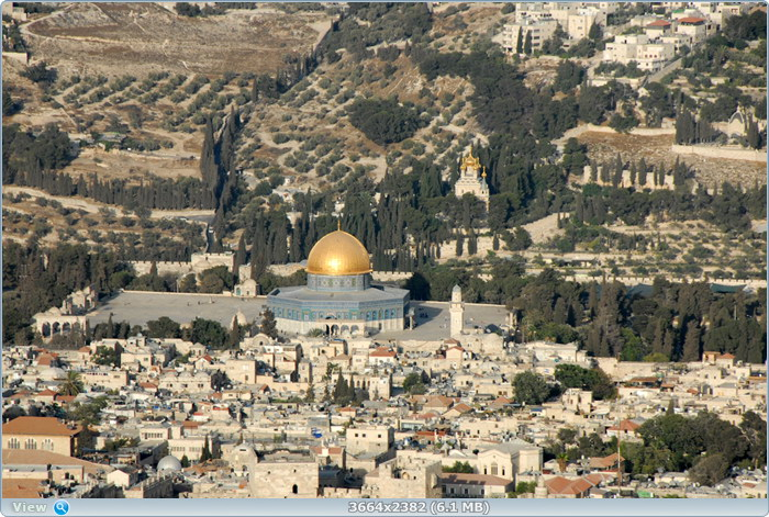 Иерусалим с вертолета