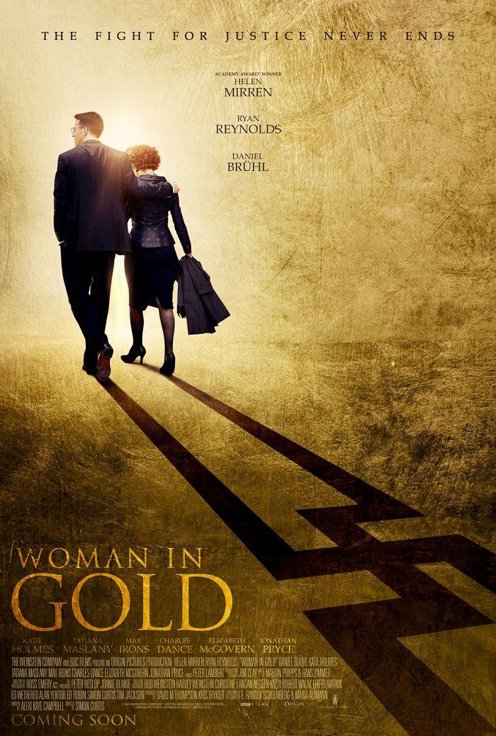 Женщина в золотом / Woman in Gold (2015)