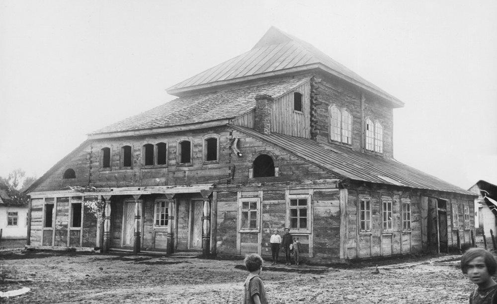 Порицк. Деревянная синагога. XVIII в. Фото 1930-х гг. – Архив НИИТИАГ, № I – 9759.
