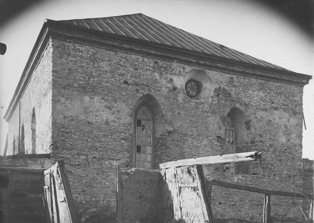 Синагога Баха. Меджибож. Фото П. Жолтовского. [1930 г.].– ИР НБУВ, ф. 278