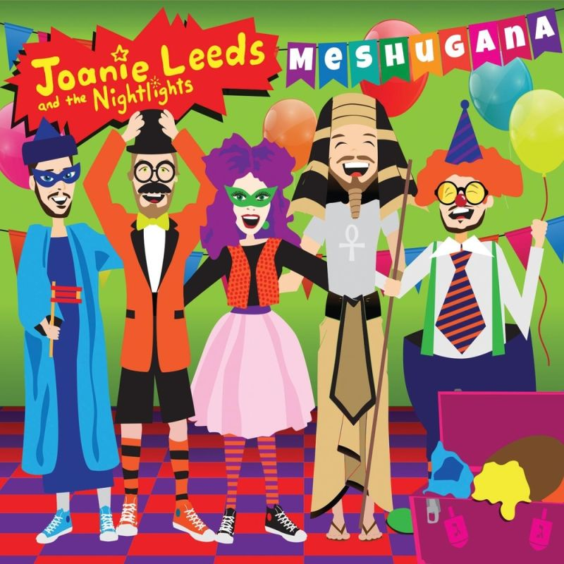 Joanie Leeds and The Nightlights - Meshugana (2015)