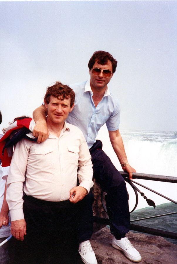 с другом детства Анатолием Быщовцем. Олимпиада в Атланте, 1996