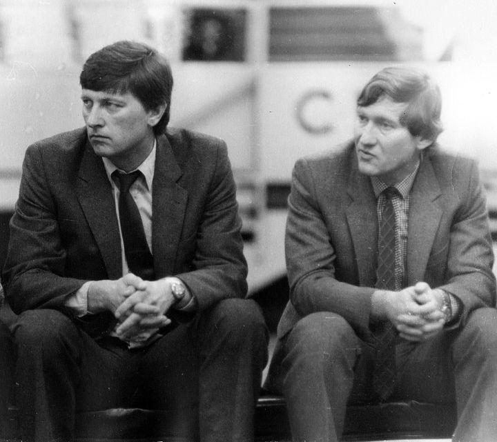 с Виктором Евгеньевичем Прокопенко, 1985г.