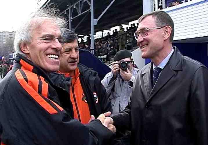 с одним из лучших тренеров мира Невио Скала 2003г.