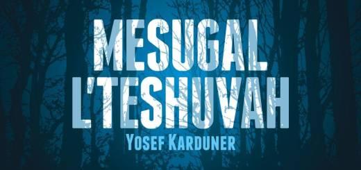 Yosef Karduner - Mesugal L'teshuvah (2016)