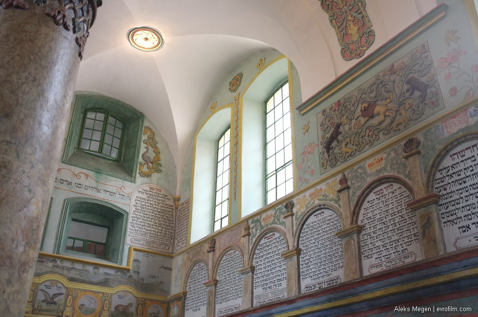 Ланьцутская синагога 1761 года (Ланьцут, Польша). Фото