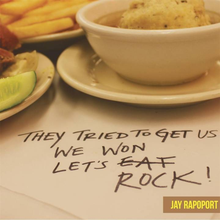 Jay Rapoport - They Tried to Get Us, We Won, Let's Rock! (2014)