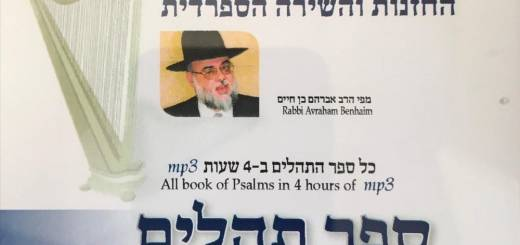 Rabbi Abraham Ben-Haim - The Book of Psalms, Book One (2018)