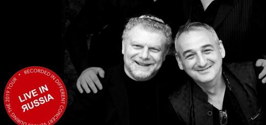 Roman Grinberg Klezmer Swing Quartet - Live in Russia (2019)